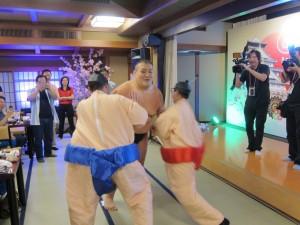 お相撲さん 外国人向けイベント2