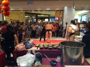 海外向け お相撲さんイベント