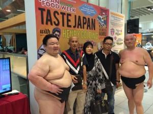 海外向け お相撲さんによるイベント